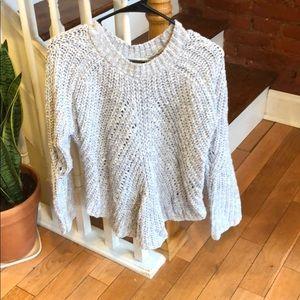 LNA thick knit sweater